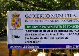 MUNICIPALIDAD CONSTRUYE Y FORTALECE EDUCACIÓN EN LA COMUNIDAD DE SAN NICOLÁS.